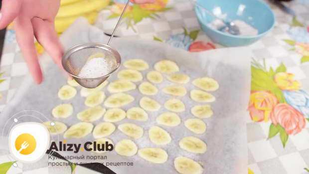 Рецепт банановых домашних чипсов с корицей