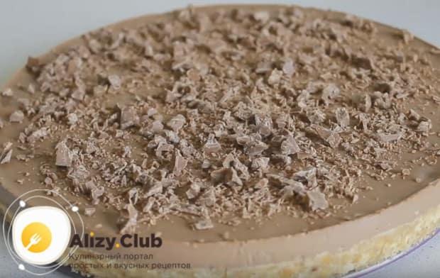 Приготовьте такой вкусный шоколадно-банановый торт по нашему рецепту с фото.