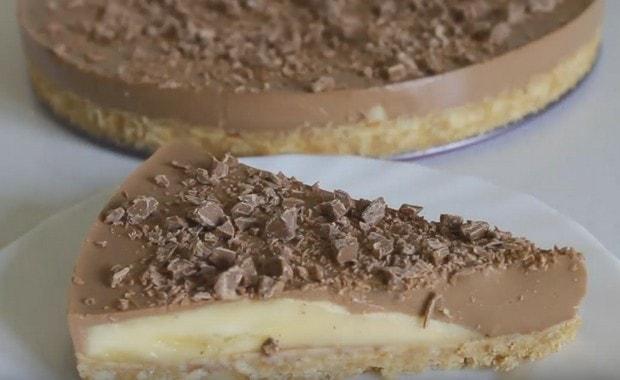Пошаговый рецепт вкусного бананового торта с фото