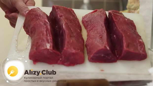 бастурма из говядины в домашних условиях видео