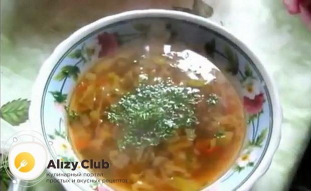 Вкуснейший боннский суп готов.