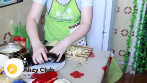 баклажаны фаршированные фаршем запеченные в духовке рецепт
