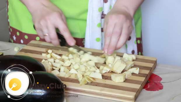 рецепт баклажанов фаршированных мясом