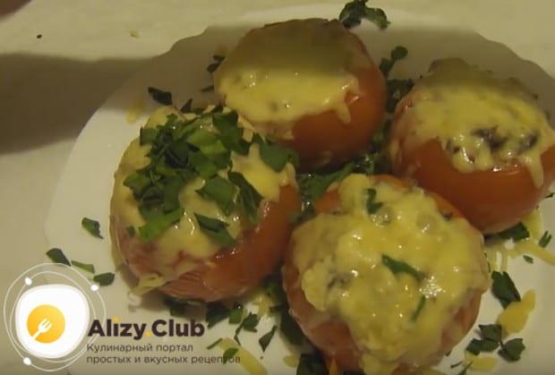 Вам непременно понравится этот рецепт фаршированных помидоров с фаршем в духовке.