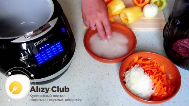 фаршированный перец рецепт с фаршем в мультиварке