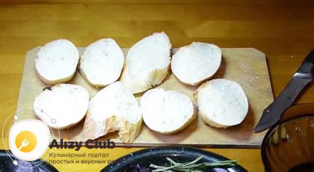 чесночные гренки из белого хлеба рецепт