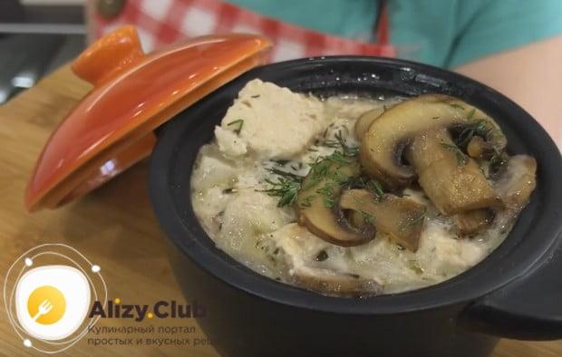 Такой соус с курицей вполне можно назвать самостоятельным блюдом!
