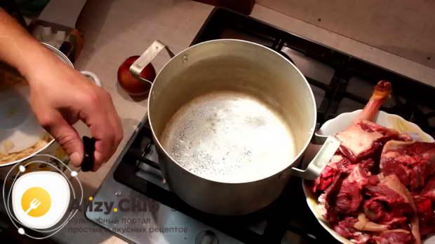 рецепт гуся с квашеной капустой в духовке