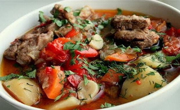 Как приготовить вкусную хашламу из баранины по рецепту с фото