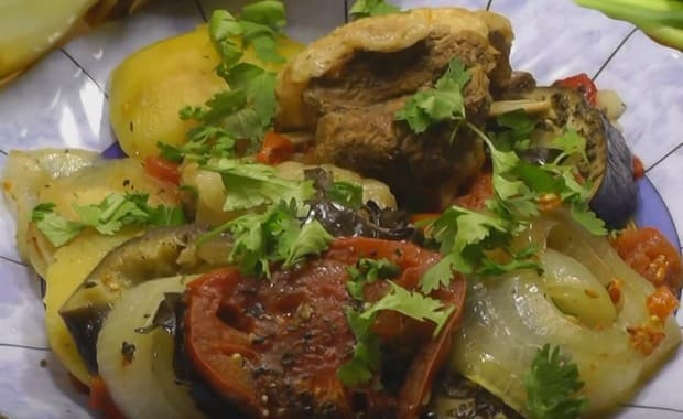 Пошаговый рецепт приготовления хашламы из говядины с фото