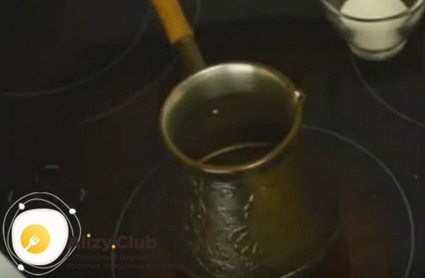 Предлагам вашему вниманию рецепт, который поможет приготовить кофе в турке дома правильно.