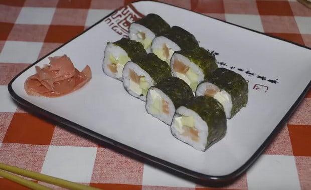 пошаговый рецепт суши в домашних условиях