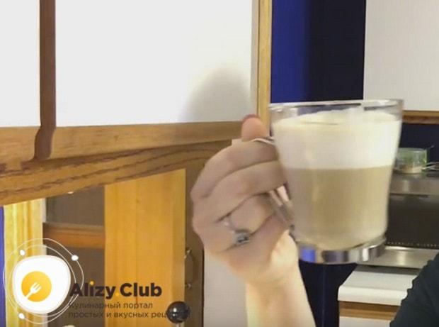 Теперь вы знаете, как сделать кофе капучино в домашних условиях.