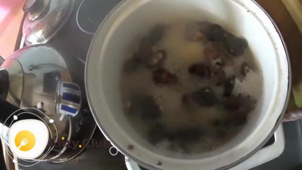 как правильно готовить сушеные грибы