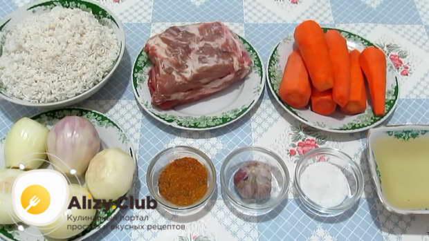 Как выбратьт ингредиенты для алова со свининой