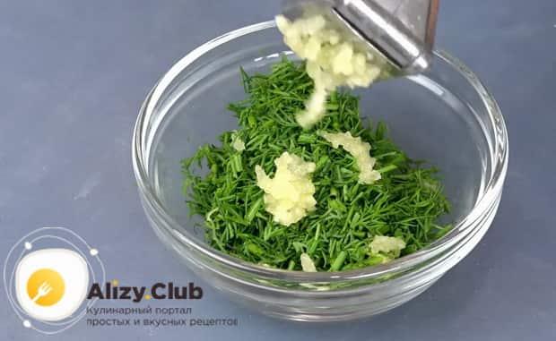 Для приготовления картошки с баклажанами как с грибами приготовьте заправку