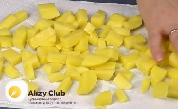 Как приготовить тушенаю картошка с баклажанами