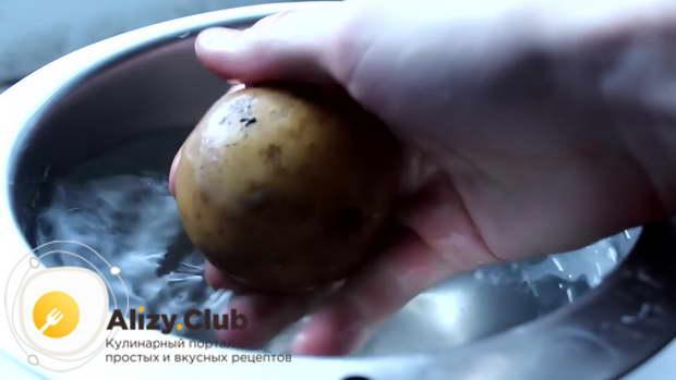 Рецепт картофельных чипсов в духовке с фото