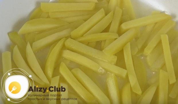 Узнайте у нас также, как приготовить замороженную картошку фри.