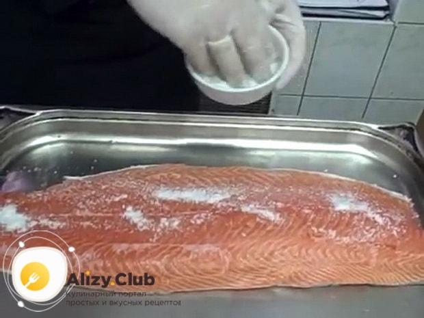 Как засолить красную рыбу в домашних условиях, простой рецепт