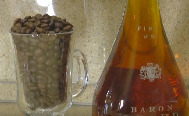Пошаговый рецепт кофе с коньяком