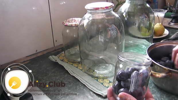 как варить компот из чернослива