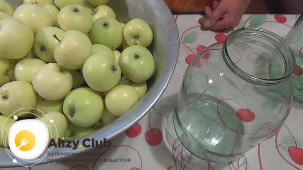 Рецепт из яблок белый налив на зиму