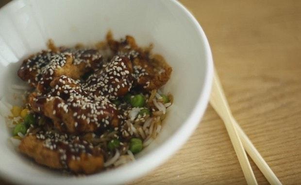 Как приготовить Куриные цукунэ в соусе терияки