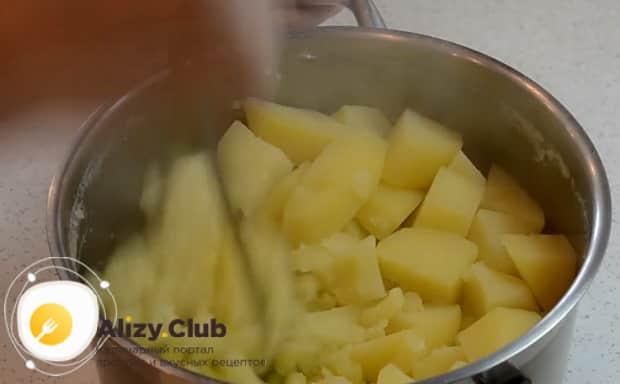 Смотрите как приготовить кыстыбый с картофелем