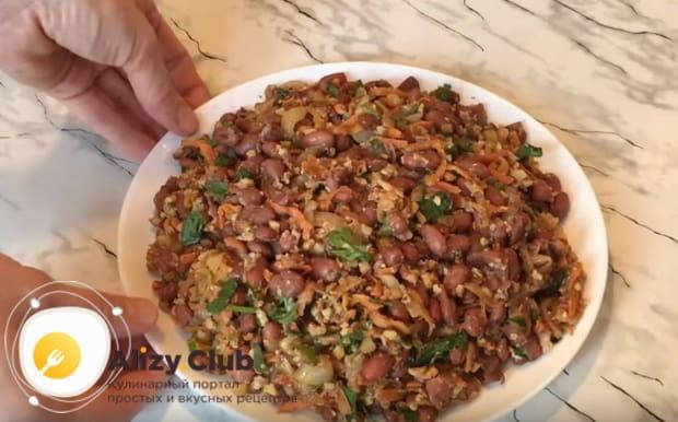 Подробный рецепт приготовления лобио из красной фасоли по грузински