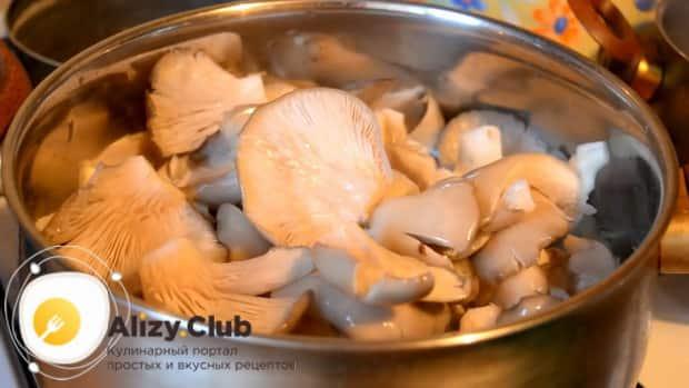 Маринованные вешенки, смотрите очень вкусный рецепт быстрого приготовления
