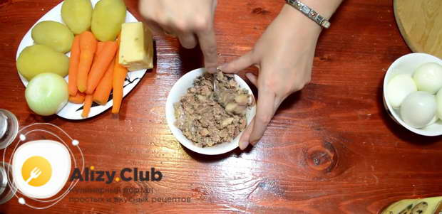 мимоза с сыром пошаговый рецепт с фото