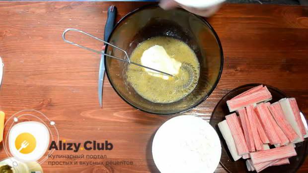 крабовые палочки в кляре простой рецепт