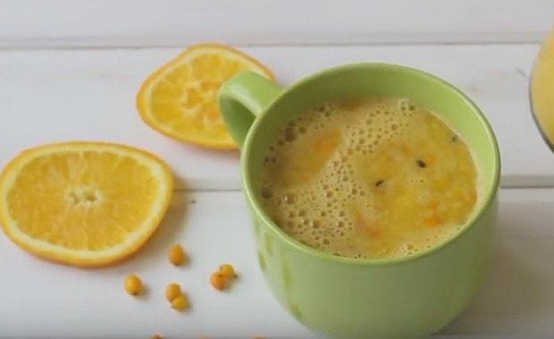 Рецепт облепихового чая с видео и фото