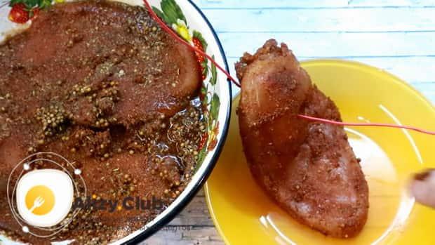 Готовим карпаччо из куриной грудки в домашних условиях, простой рецепт