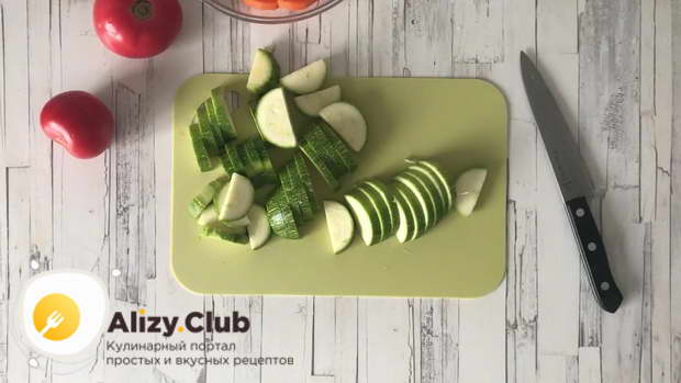 овощное рагу с капустой в мультиварке