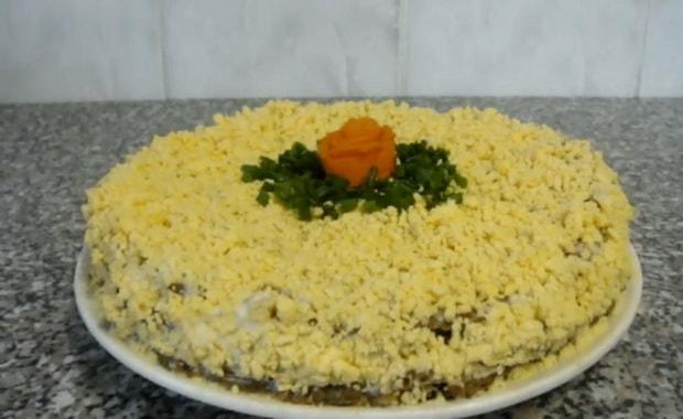 Как приготовить печеночный торт из говяжьей печени по пошаговому рецепту с фото