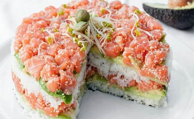 Как приготовить салат суши по пошаговому рецепту с фото