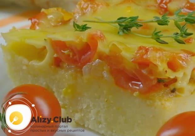 Приготовленная по такому рецепту полента с сыром никого не оставит равнодушным!