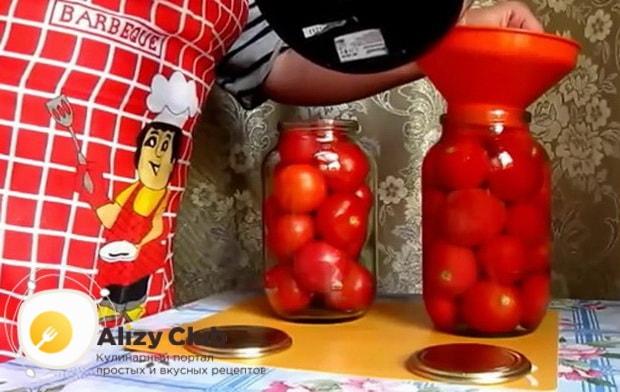 Как приготовить помидоры консервированные в яблочном соке