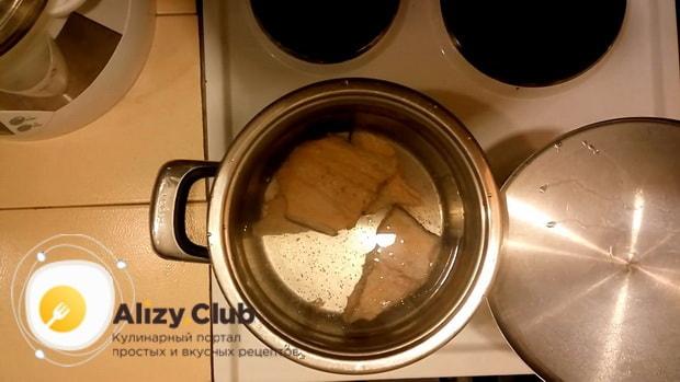 Готовим рыбный суп с пшеном