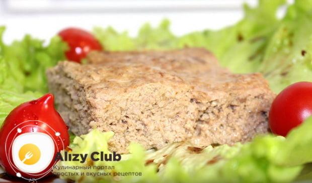 Детальный рецепт приготовления очень нежного и вкусного мясного суфле в духовке
