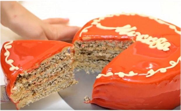 Как приготовить торт Москва по пошаговому рецепту с фото