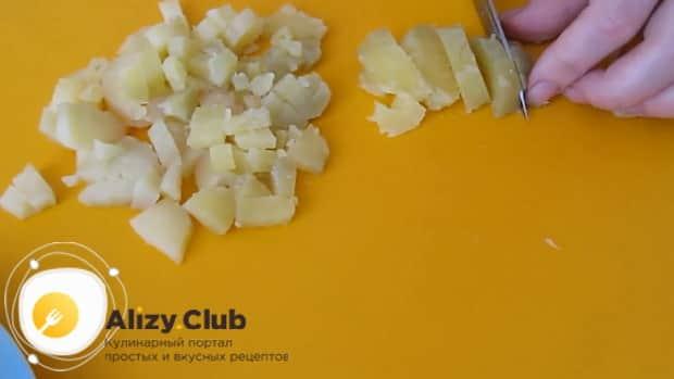 Готовим салат из квашеной капусты с яблоком