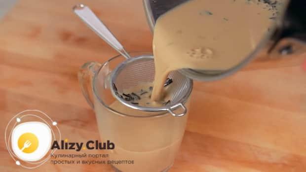 По рецепту для приготовления чая масла, процедите ингредиенты