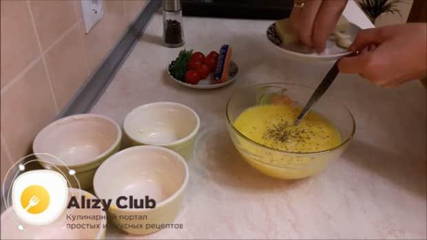 Что нужно для приготовления омлета с ветчиной и помидорами