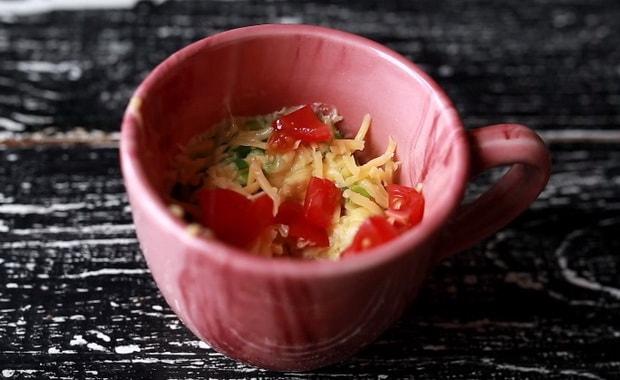 Как сделать омлет в микроволновке по пошаговому рецепту с фото