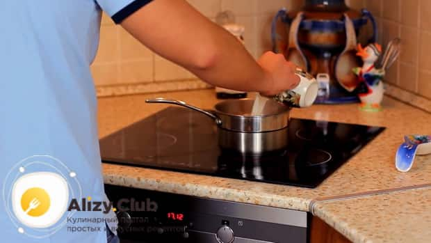 По рецепту для пригготовления чая масла на молоке, подготовьте ингредиенты