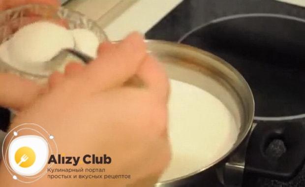Смотрите как приготовить молочный суп с макаронами по рецепту с фото,