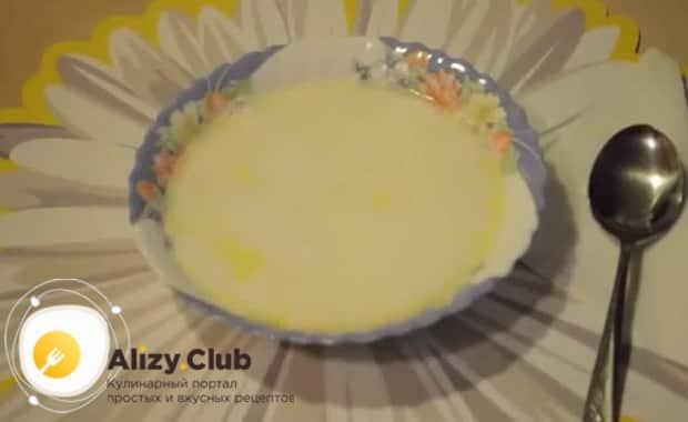 Смотрите как варить молочный суп с макаронами